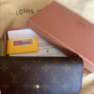 Louis Vuitton Wallet Monogram Porte Tresor Trifold